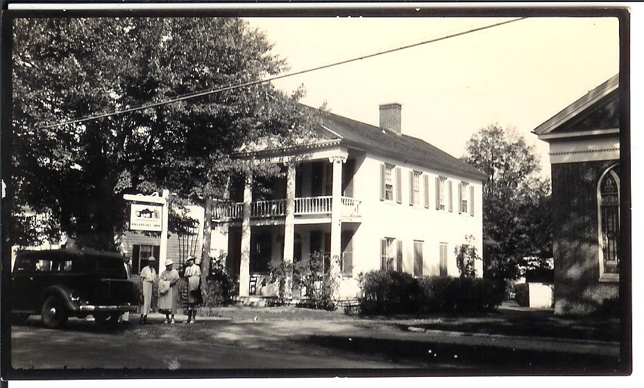 Ragamont Inn, 1936